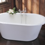 Oval Tub with Flat Rim