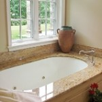 Modern Oval Undermount Tub